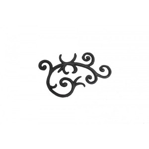 Ornamento em Ferro Fundido 49X29 cm