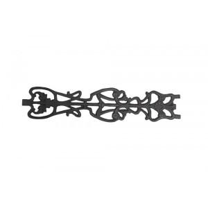 Florão Decorativo em Ferro Fundido 80X17CM