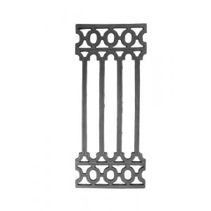Grade Decorativa em Ferro Fundido 81X34 cm