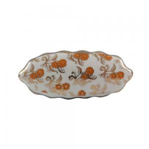 Puxador Cerâmica Vintage Flores A6xC5xL3 cm