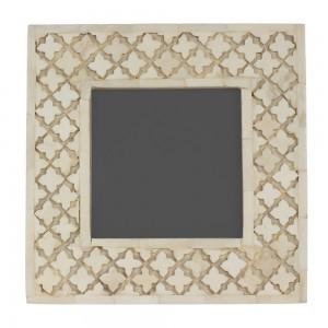 Porta Retrato Osso Esculpido 4x17x22CM