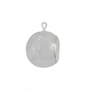 Objeto de Ornamentação Globo de Vidro 10X9CM