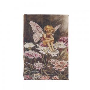 Caixa Livro Retangular em Madeira com Estampa Anjo A2,8xC13,5xL9,5 cm