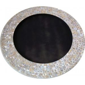 Moldura para Espelho em Madrepérola Redondo D51 cm