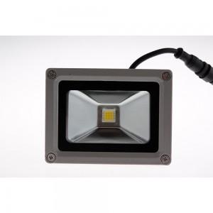 Refletor Led Elétrico Branco Bivolt 10W A8,5xC11,5xP8 cm