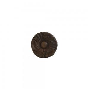 Puxador Metal Rústico Colonial Bronze A3xD3xL3 cm