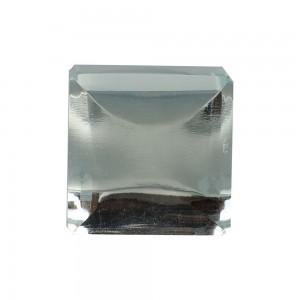 Puxador Vidro Transparente Quadrado A3XL3XP3 cm