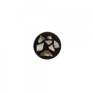 Puxador Madrepérola Pedaços com Resina 3,5x3,5x3 cm