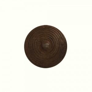 Puxador Metal Rústico Circulos 3x3x2,5 cm