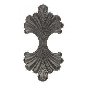 Ornamento de Ferro Fundido 1X2X24CM