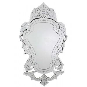 Espelho Veneziano Provençal c/ Gravuras Decorativo 113x66 cm