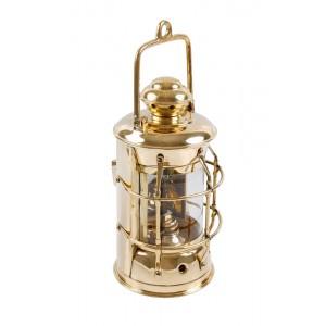 Lanterna de Metal Dourado c/ Grade 50x16X16 cm