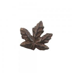 Puxador Ferro Folhas 6,3X3X5,7 cm