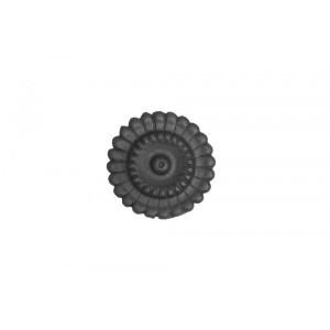 Ornamento Circular em Ferro Fundido 12,5X12,5 cm