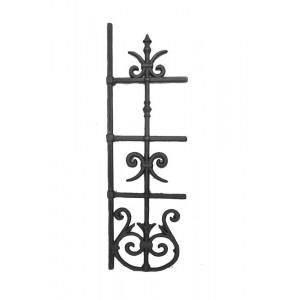 Ornamento em Ferro Fundido 80X26 cm