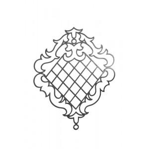 Ornamento em Ferro Fundido 97X74 cm