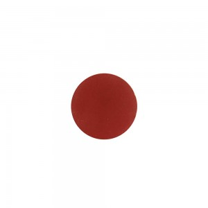 Puxador Madeira Redondo Vermelho Médio 2,5X3,5X3,5CM