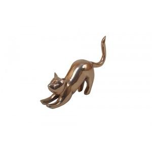 Obejto Decorativo Cat Deitado 4X17X22CM