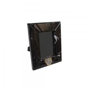 Porta Retrato Laca com Vidro Black 2,5X21,5X26CM