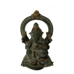 Objeto de Ornamentação Ganesha 13,75CM