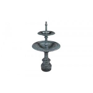 Fonte Cascata Chafariz c/ 2 Niveis em Ferro Fundido 140x78cm