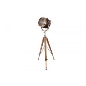 Luminária de Metal Tripé Farol A177,5XL112,5 cm