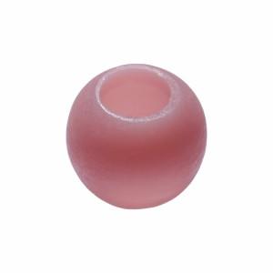 Led Oval Acabamento Cera Rosa A6,5xD7,5 cm