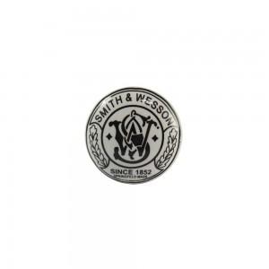 Puxador Decorativo Smith & Wesson Preto e Branco em Cerâmica