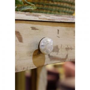 Puxador Madrepérola Natural 4X4X3 cm