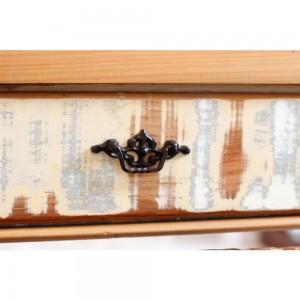 Puxador Ferro Decorativo Clássico Maior A7xC12 cm