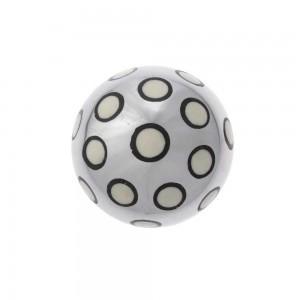 Bola Decorativa em Metal com Osso e Resina Pequena D8 cm