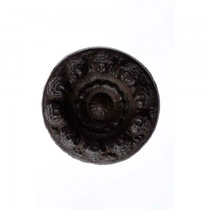 Puxador Redondo Rústico Antique Desenhos Trabalhado em Ferro
